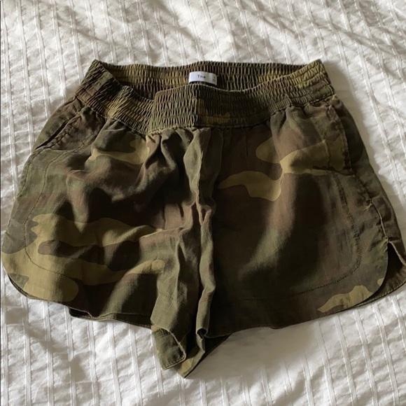 TNA camo shorts